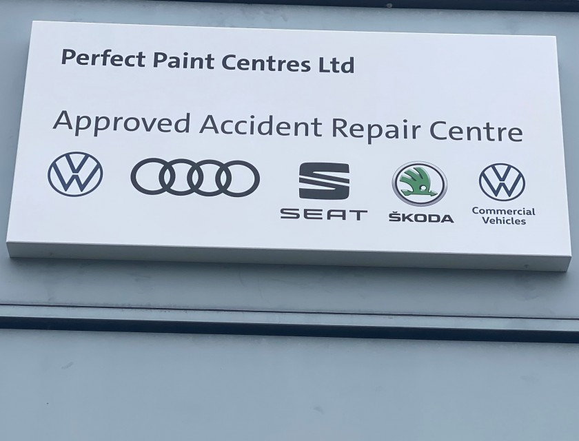 VW New Signage Installed